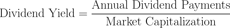dividend yield,DY,dividend-price ratio,DPR formula,equation,calculator