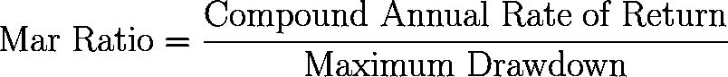 mar ratio,MR formula,equation,calculator