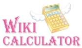 WikiCalculator.com Logo